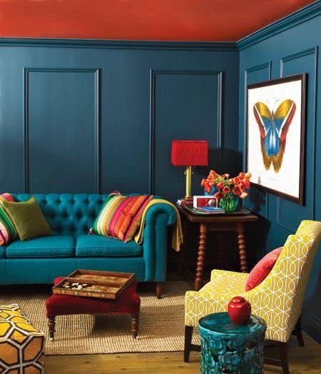 couleur maison salon